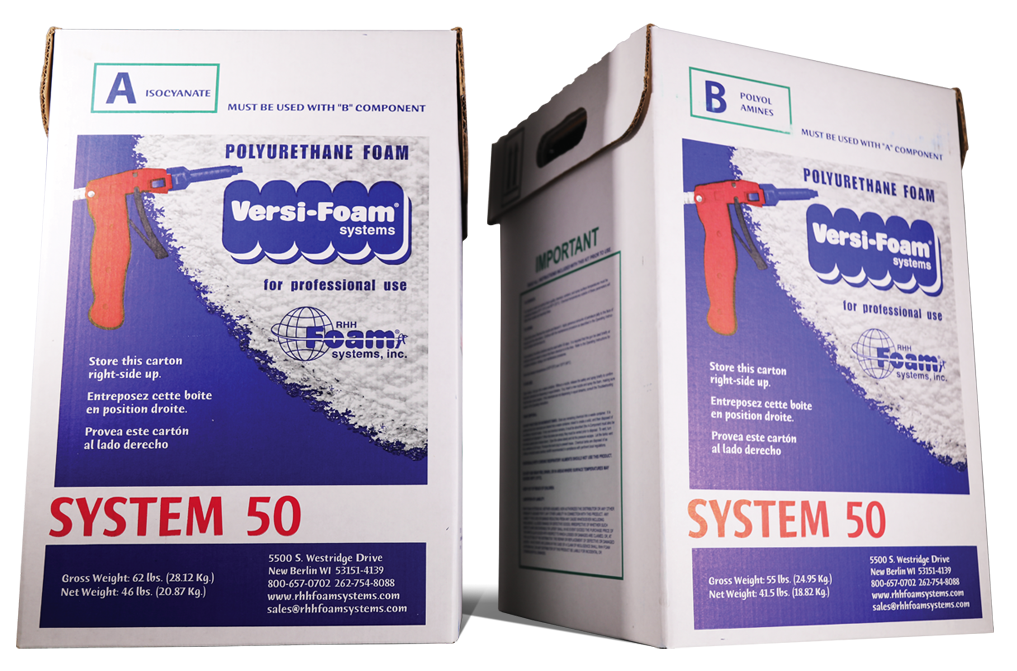 Spray Foam Insulation Versi Foam Systems